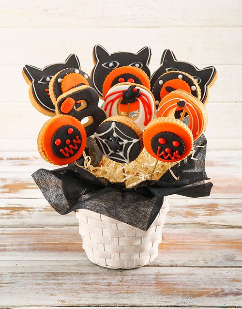 halloween: Spooky Cookie Bouquet!