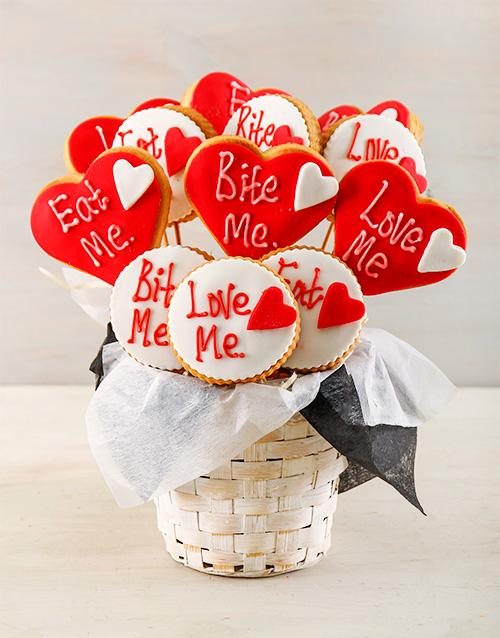cookies-and-biscuits: Bite Me Cookie Bouquet!