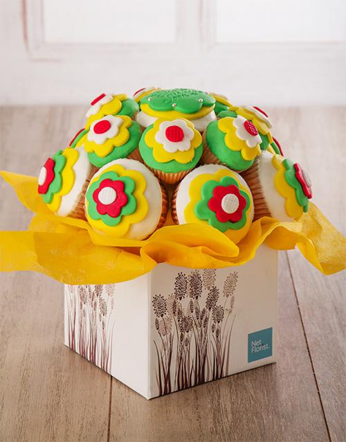 good-luck: Get Well Soon Cupcake Bouquet !