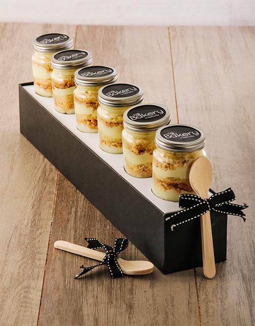 cupcake-jars: Half Dozen Milk Tart Cupcake Jars!