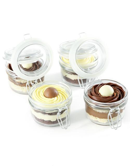cupcake-jars: Lindt Lovers Cake Jar Combo!