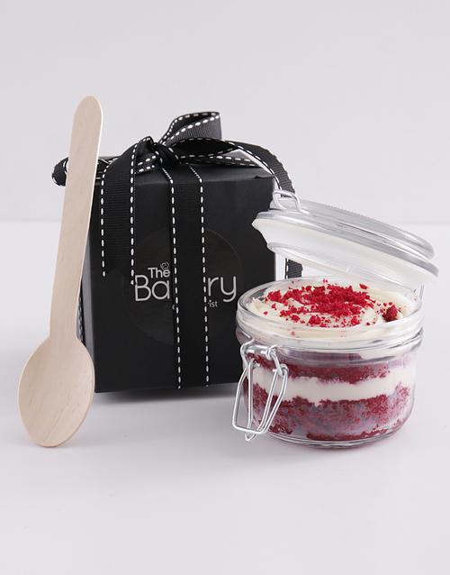 cupcake-jars: Single Red Velvet Cupcake Jar!