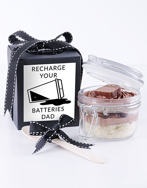 fathers-day: Recharge Batteries Bar One Cupcake Jar!