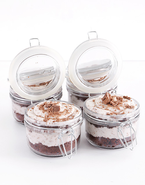 valentines-day: Flake Cupcake Jars!