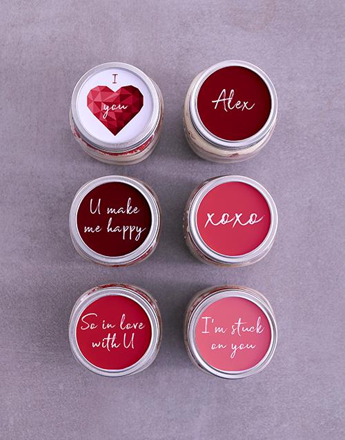 personalised: Personalised Love Cake Jars!