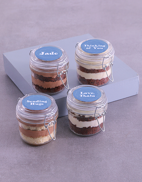personalised: Personalised Sympathy Cupcake Jars!