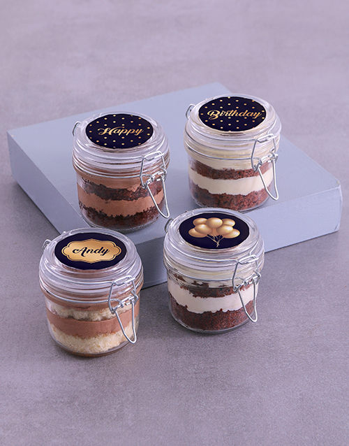 birthday: Personalised Birthday Lindt Cake Jars!