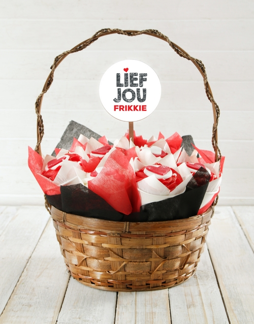 cupcake-bouquets: Personalised Lief Jou Cupcake Bouquet!