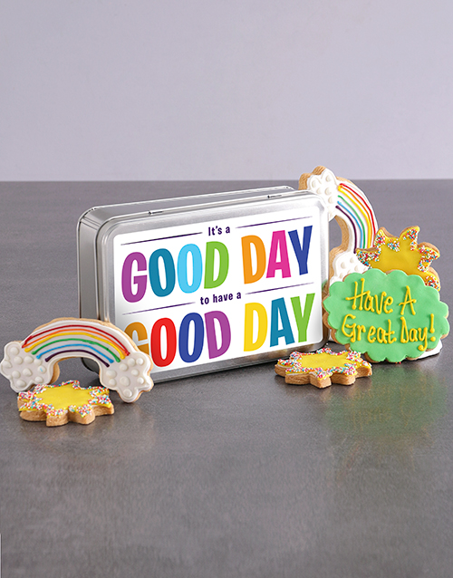 bakery: Good Day Cookie Tin!