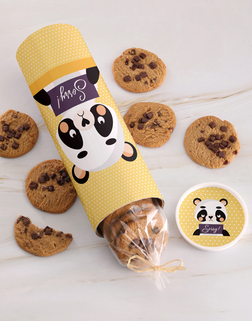 apology: Sorry Panda Cookie Tube Surprise!