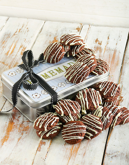 cookies-and-biscuits: Chocolate Cookie Delight Tin!
