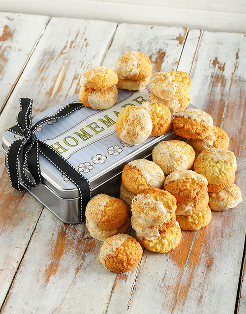 cookies-and-biscuits: White Chocolate and Coconut Cookie Tin!