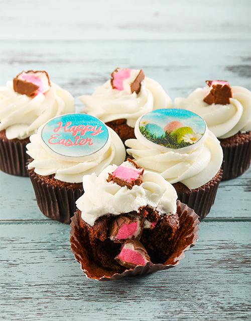 cupcakes: Mallow Egg Easter Cupcakes!