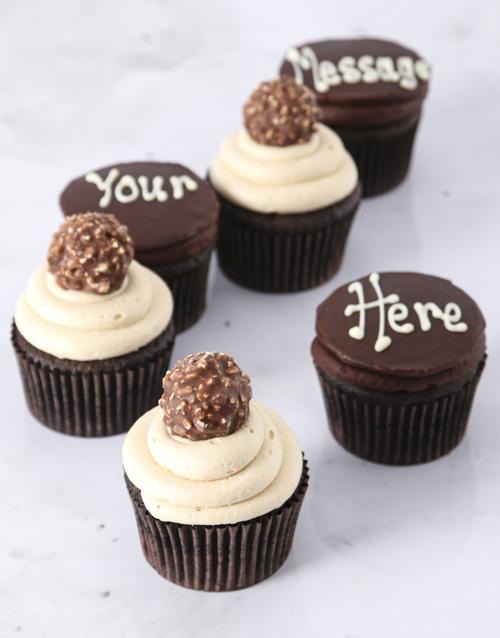 cupcakes: Ferrero Rocher Luxury Cupcakes!