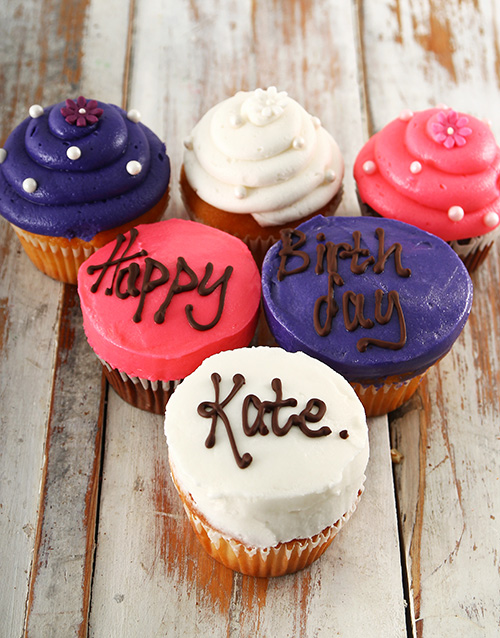 cupcakes: Personalised Birthday Cupcakes for Her!