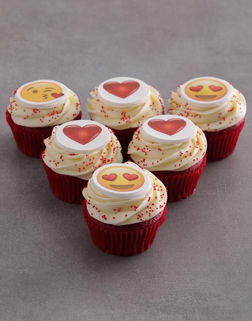 valentines-day: Emoji Love Cupcakes!
