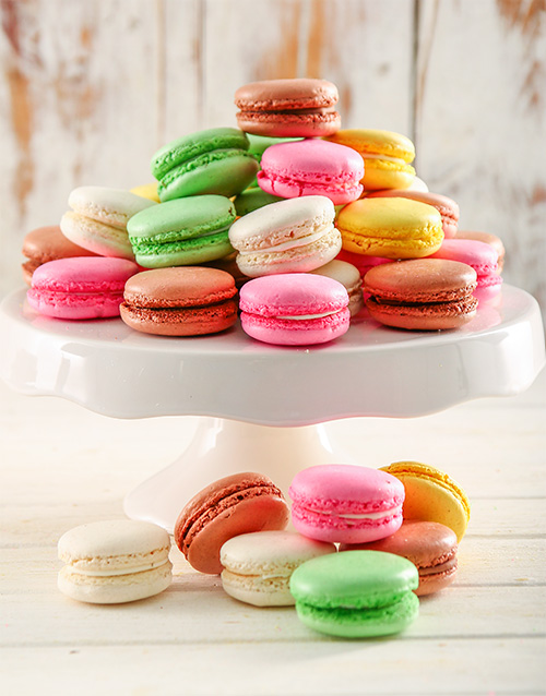 best-sellers: Rainbow Temptation Macaroon Combo Box!