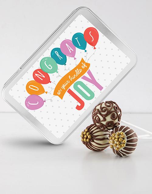bakery: New Baby Cake Pops!