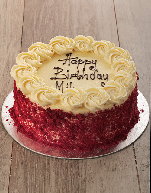 best-sellers: Red Velvet with Cream Cheese Icing!