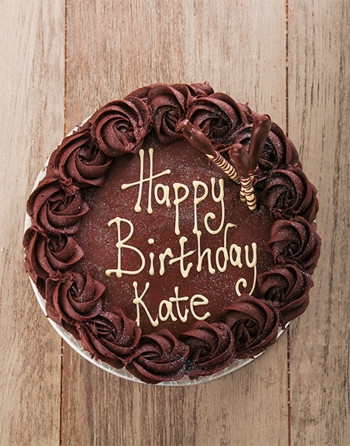 Chocolate Rose Cake Bakery Netflorist