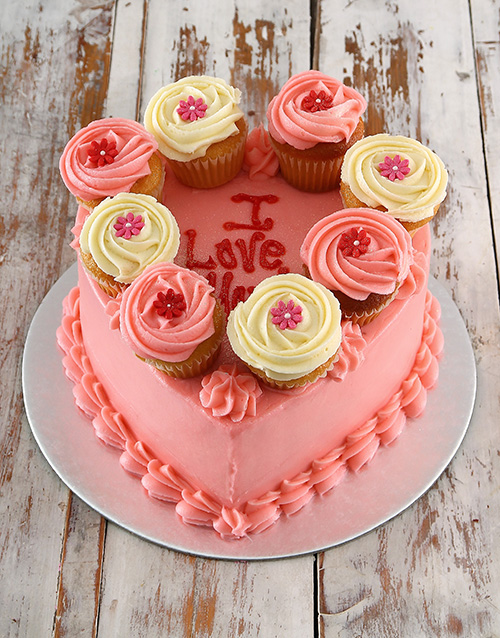 personalised: Pink Love Party Cake!