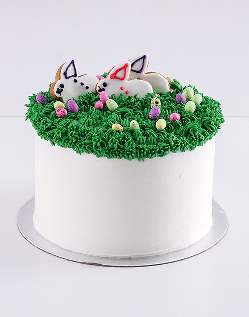 easter: Easter Bunny Marshmallow and Vanilla Cake!