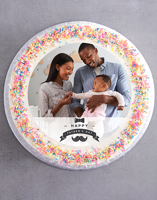 fathers-day: Fathers Day Photo Cake!