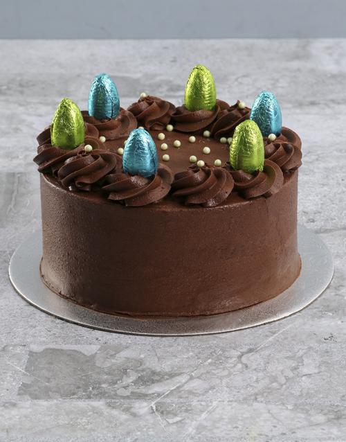 easter: Easter Egg Chocolate Cake!