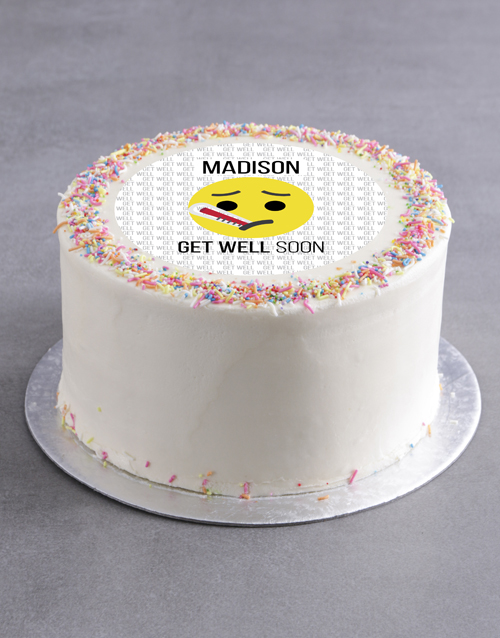 cakes: Personalised Well Wishes Cake!