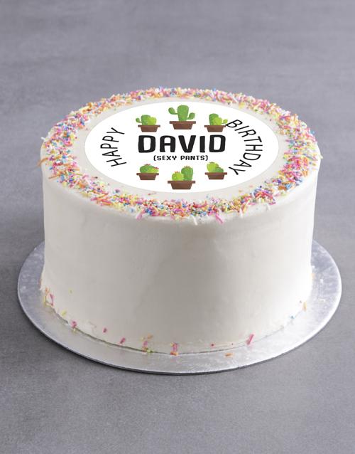 cakes: Personalised Sexy Birthday Cake!