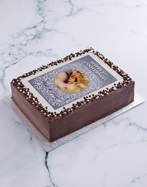 cakes: Happy Anniversary Photo Cake!
