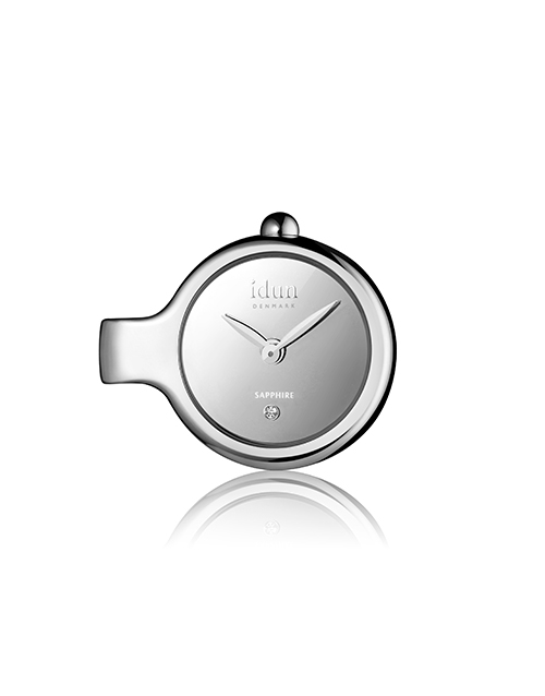 mothers-day: Idun Denmark Silver Pendant Charm Watch !
