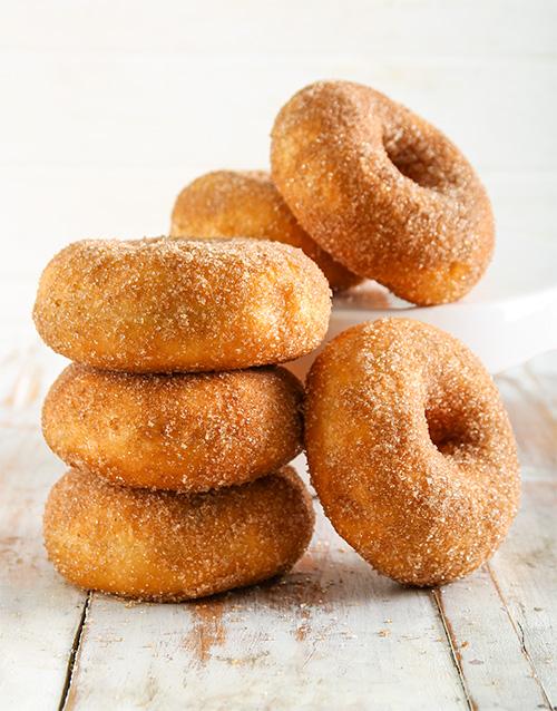 birthday: Sweet as Cinnamon Ring Doughnuts!