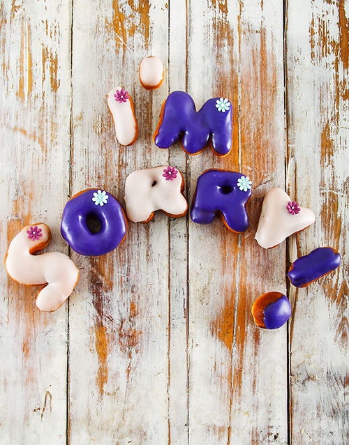 apology: Sorry Mini Doughnuts!