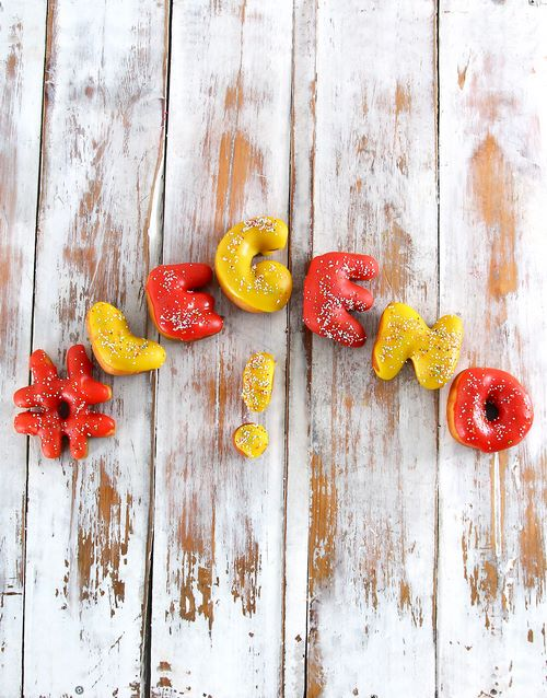 teachers-day: Legend Mini Doughnut letters!