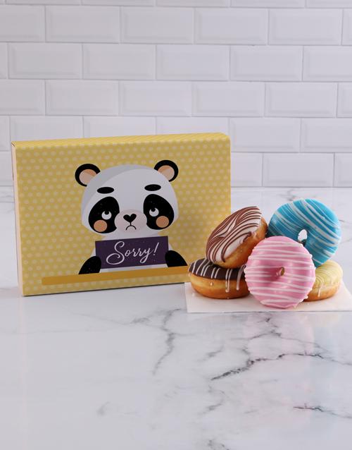 apology: Sorry Panda Doughnut Box!