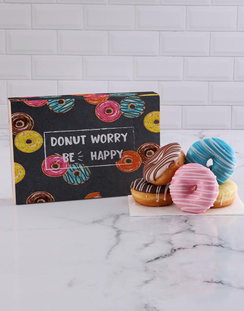 doughnuts: Be Happy Doughnut Box!