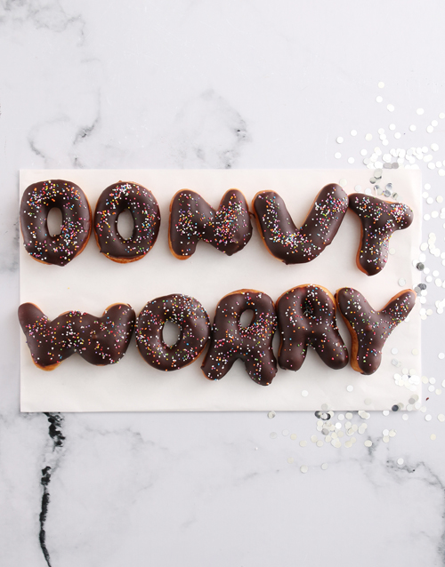 doughnuts: Donut Worry Doughnut Letters!