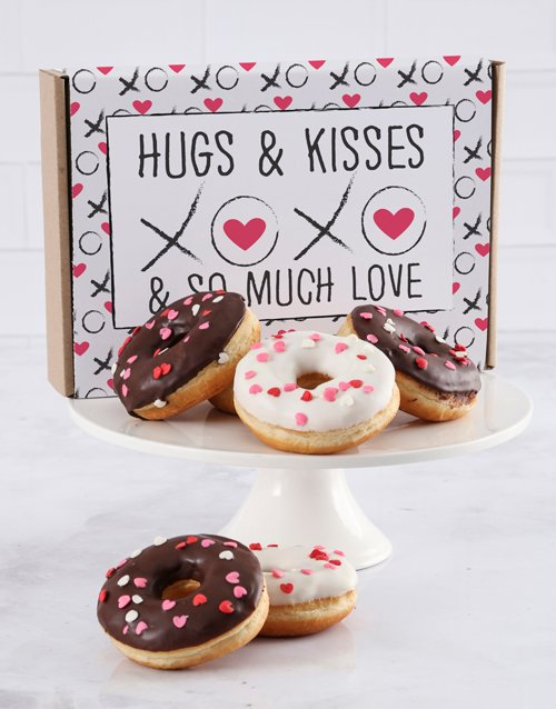 valentines-day: Sweet Love Doughnut Letters !