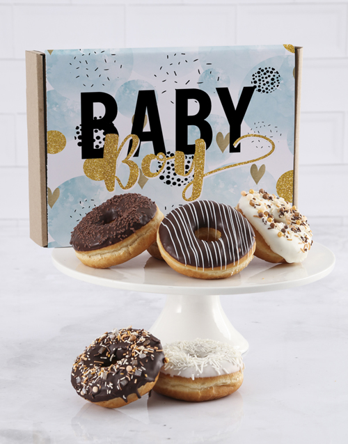baby: Baby Boy Doughnut Letters!