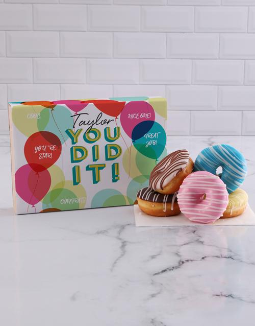 doughnuts: Personalised Congrats Doughnuts!