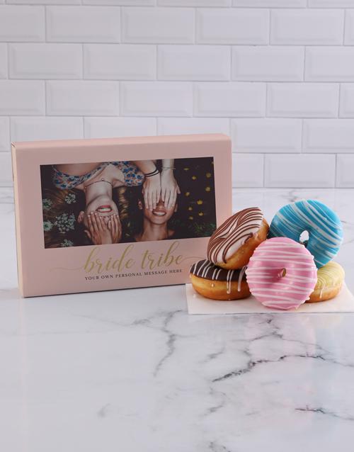 doughnuts: Personalised Bride Tribe Doughnuts!