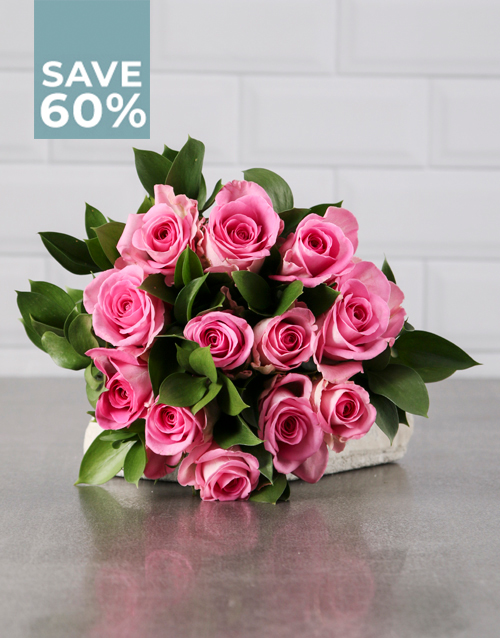 roses: Perfectly Pink Rose Bouquet!