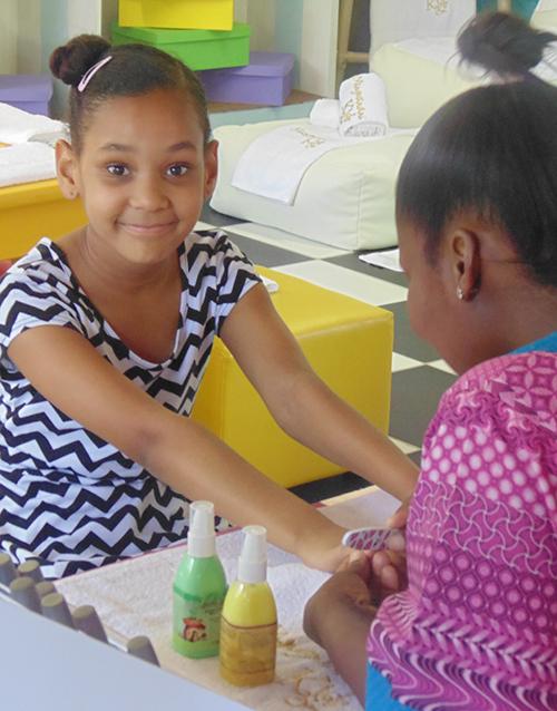 experiences: Mangwanani Standard Kids Spa Package!
