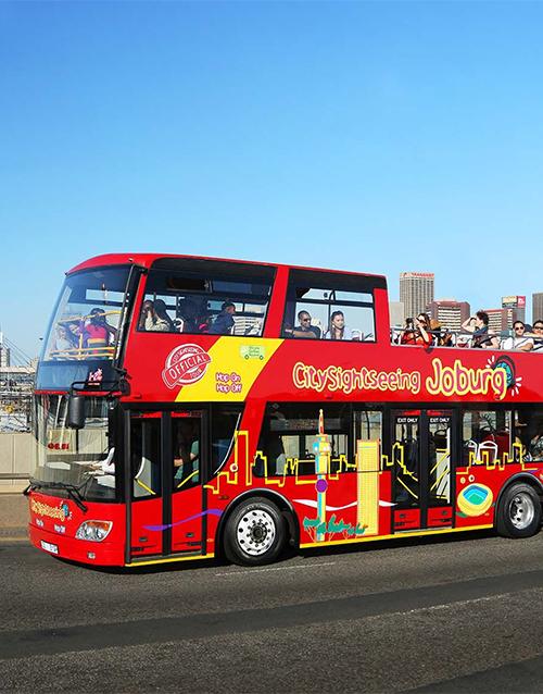 experiences: Bus Tour in Johannesburg!