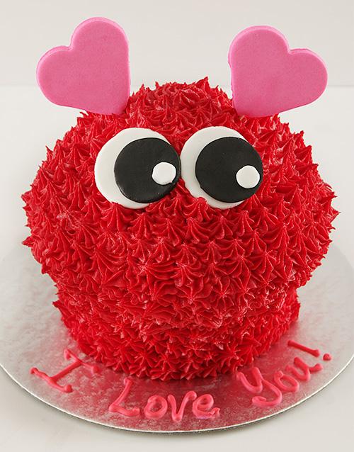giant-cupcakes: Love  Bug Giant Cupcake!