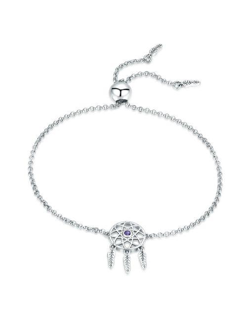 bracelets-and-bangles: Silver Adjustable Dream Catcher Bracelet!