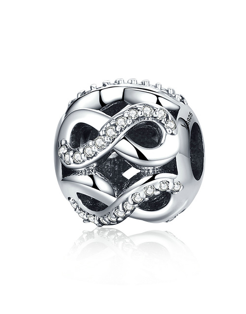 pandora: Silver Open Infinity Cubic Charm!