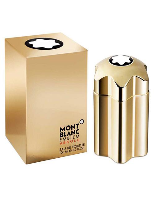perfume: Mont Blanc Emblem Gold Absolu EDT 100ml!