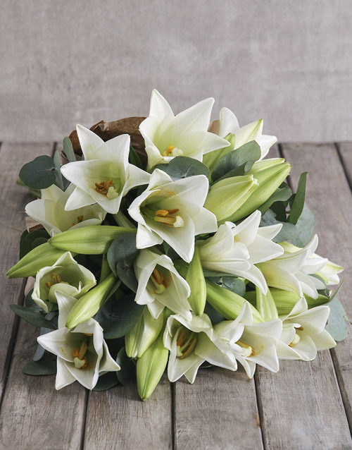 mothers-day: Fragrant Lily Bouquet!